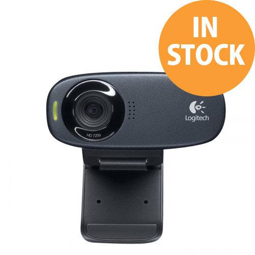 Logitech HD Webcam C310 - Web camera - colour - 1280 x 720 - audio - USB 2.0