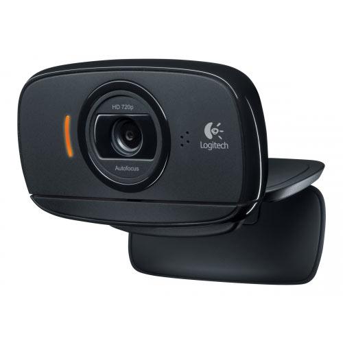 Logitech HD Webcam B525 - Web camera - colour - 1280 x 720 - audio - USB 2.0