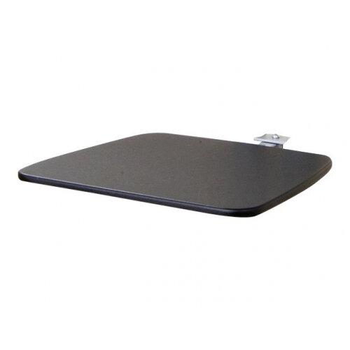 NewStar Extra shelf for Floor Stands PLASMA-M1200, PLASMA-M1800E &PLASMA-M2000E - Black - Mounting component (shelf) for AV System - black - cart mountable