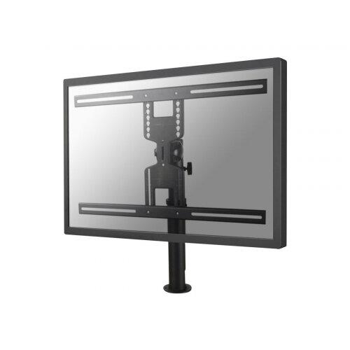 """NewStar Tilt/Turn/Rotate Desk Mount (grommet) for 32-60"""" Monitor Screen, Height Adjustable - Black - Desk mount for LCD display - black - screen size: 32""""-60"""""""