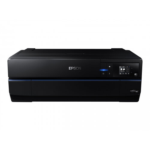 "Epson SureColor SC-P800 - 17"" large-format printer - colour - ink-jet - Roll (43.2 cm) - 2880 x 1440 dpi - up to 3 ppm (mono) / up to 3 ppm (colour) - capacity: 120 sheets - USB 2.0, LAN, Wi-Fi(n)"