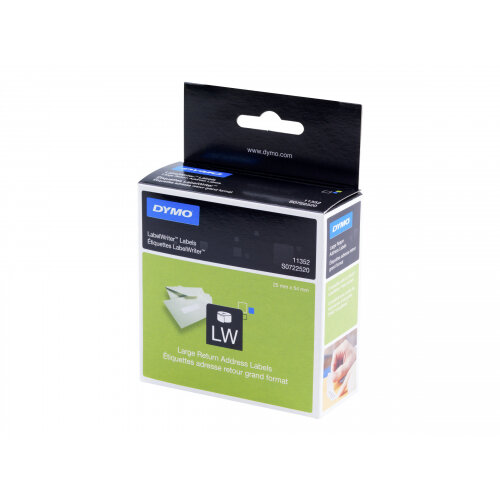 DYMO LabelWriter Address - White - 54 x 25 mm 500 label(s) (1 roll(s) x 500) address labels - for DYMO LabelWriter