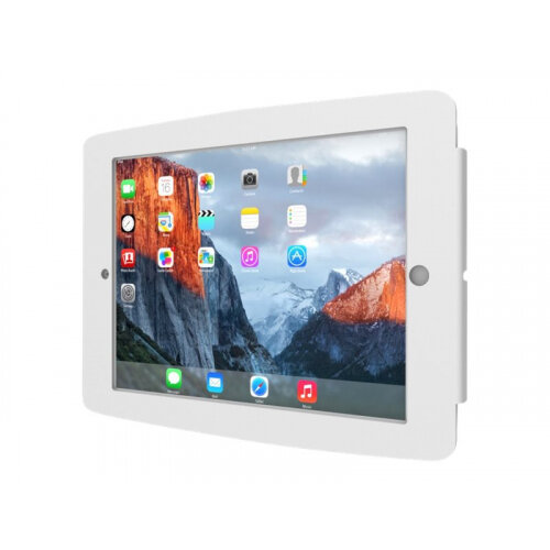 "Compulocks Space - iPad 9.7"" Wall Mount Enclosure - White - Mounting kit (anti-theft enclosure) for tablet - aluminium - white - wall-mountable - for Apple 9.7-inch iPad Pro; iPad; iPad 2; iPad Air; iPad Air 2; iPad with Retina display"