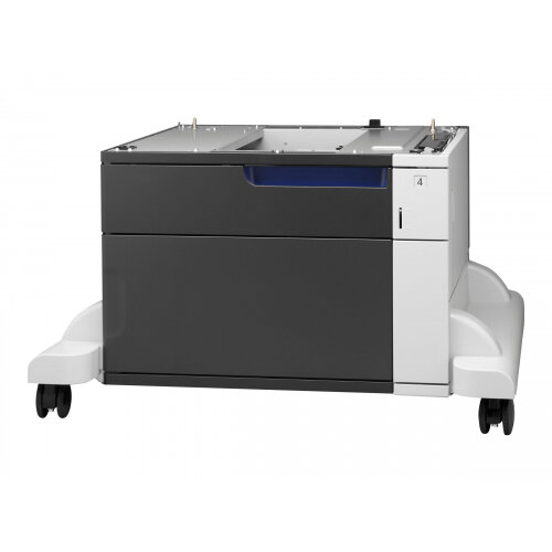 HP Paper Feeder and Stand - Printer base with media feeder - 500 pages in 1 tray(s) - for LaserJet Enterprise MFP M775; LaserJet Managed MFP M775
