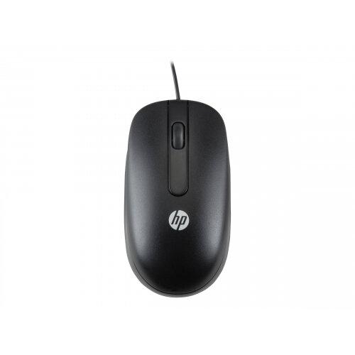 HP - Mouse - laser - wired - USB - for HP t530, t628; Elite Slice; EliteOne 1000 G1, 800 G3; Workstation Z2, Z8 G4