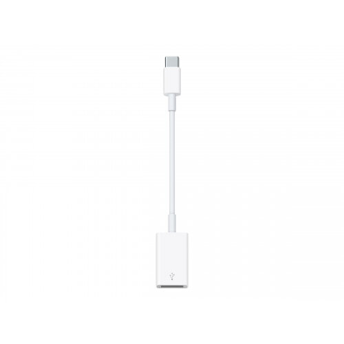 Apple USB-C to USB Adapter - USB adapter - USB Type A (F) to USB-C (M) - for MacBook (Early 2015, Early 2016, Mid 2017); MacBook Pro (Late 2016, Mid 2017)