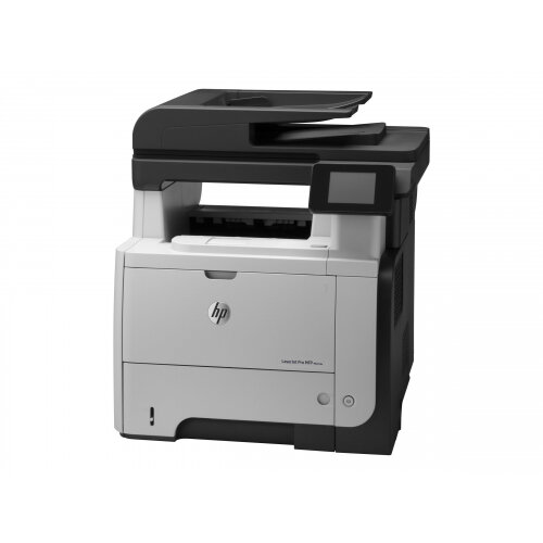 HP LaserJet Pro MFP M521dw - Multifunction printer - B/W - laser - Legal (216 x 356 mm) (original) - A4/Legal (media) - up to 40 ppm (copying) - up to 40 ppm (printing) - 600 sheets - 33.6 Kbps - USB 2.0, Gigabit LAN, Wi-Fi(n), USB host