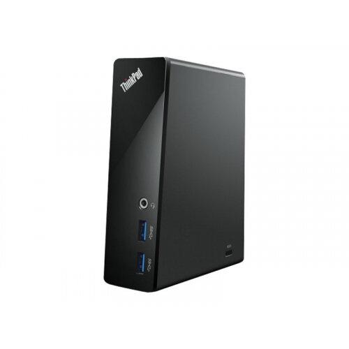 Lenovo ThinkPad USB 3.0 Dock - Docking station - USB - GigE - South Africa - for Thinkpad 13; ThinkPad L460; L560; P40 Yoga; P50; T460; T560; X1 Tablet; X260; Z40-75
