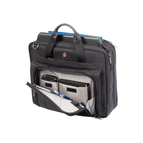 "Targus Corporate Traveler 15 - 15.6 inch / 38.1 - 39.6cm Ultralite - Notebook carrying case - Laptop Bag - 15.6"" - black"