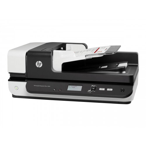 HP ScanJet Enterprise Flow 7500 - Document scanner - Duplex - 216 x 864 mm - 600 dpi x 600 dpi - up to 50 ppm (mono) / up to 50 ppm (colour) - ADF (100 sheets) - up to 3000 scans per day - USB 2.0