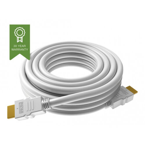 VISION Techconnect - HDMI with Ethernet cable - HDMI (M) to HDMI (M) - 1 m - white - 4K support