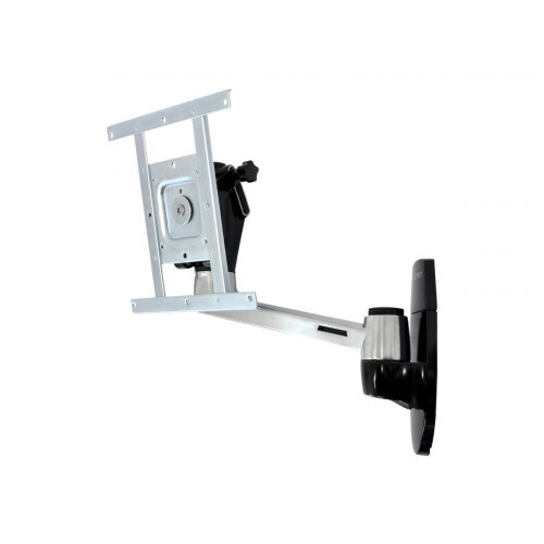 "Ergotron LX HD Wall Mount Swing Arm - Mounting kit (swing arm, knob) for TV (Tilt &Swivel) - aluminium - screen size: up to 42"" - wall-mountable"