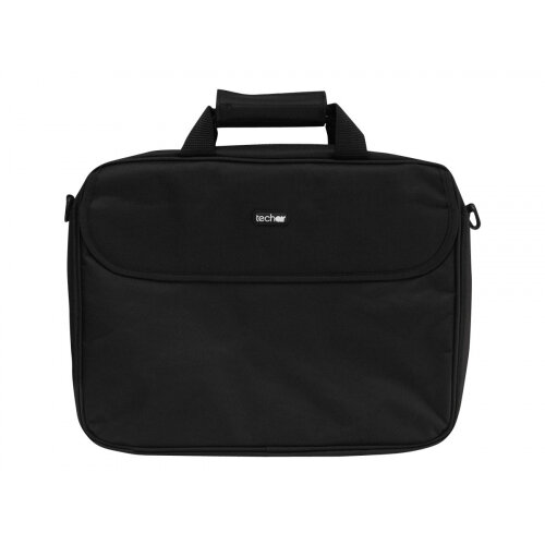 "techair - Notebook carrying shoulder bag - Laptop Bag 15.6"" - black"