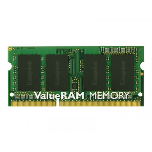Kingston ValueRAM - DDR3 - 8 GB - SO-DIMM 204-pin - 1333 MHz / PC3-10600 - CL9 - 1.5 V - unbuffered - non-ECC