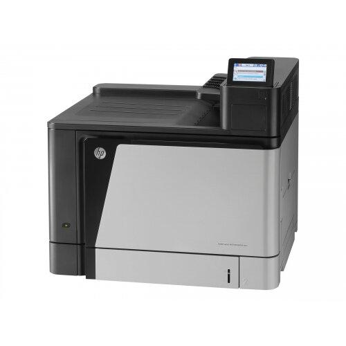 HP Color LaserJet Enterprise M855dn - Printer - colour - Duplex - laser - A3/Ledger - 1200 x 1200 dpi - up to 46 ppm (mono) / up to 46 ppm (colour) - capacity: 600 sheets - USB 2.0, Gigabit LAN, USB host, USB host (internal)