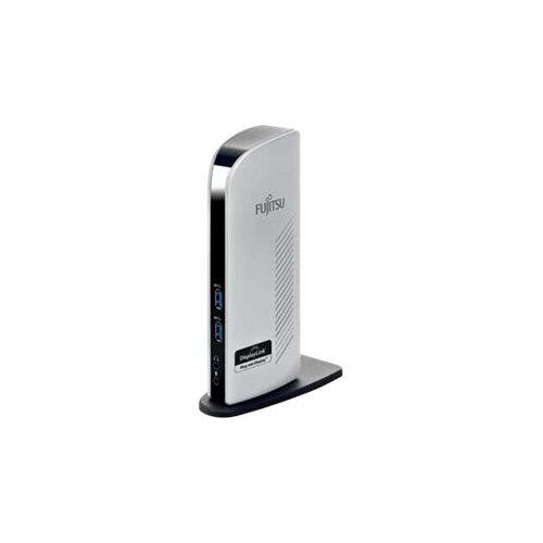 Fujitsu USB 3.0 Port Replicator PR08 - Docking station - USB - GigE - for ESPRIMO D556, D738/E94, D757, D757/E94, D957, D957/E94, D958/E94, P556, P957, Q520, Q956