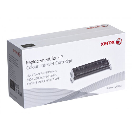 Xerox HP Colour LaserJet 2600/2605 series - Black - toner cartridge (alternative for: HP Q6000A) - for HP Color LaserJet 1600, 2600n, 2605, 2605dn, 2605dtn, CM1015 MFP, CM1017 MFP