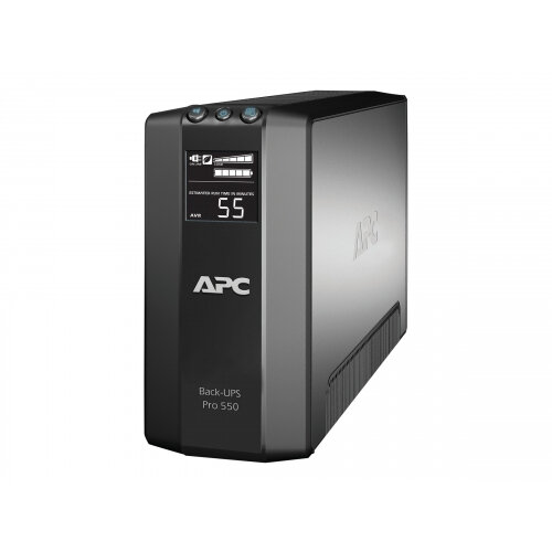 APC Back-UPS RS LCD 550 Master Control - UPS - AC 230 V - 330 Watt - 550 VA - USB - output connectors: 6 - black