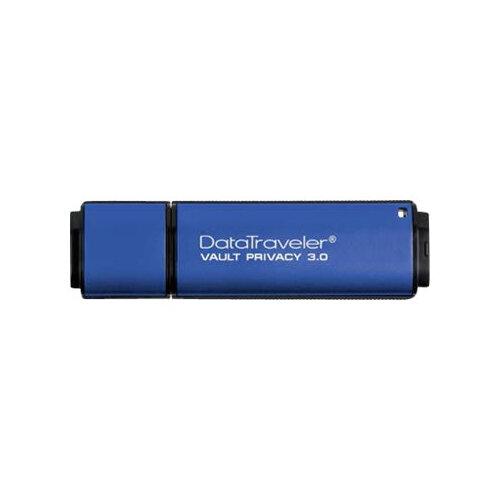 Kingston DataTraveler Vault Privacy 3.0 - USB flash drive - encrypted - 8 GB - USB 3.0