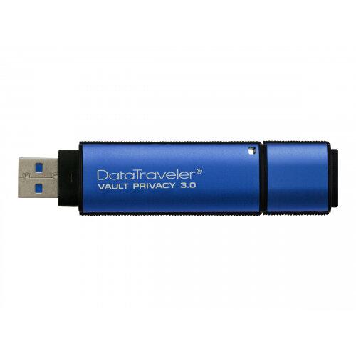 Kingston DataTraveler Vault Privacy 3.0 - USB flash drive - encrypted - 32 GB - USB 3.0