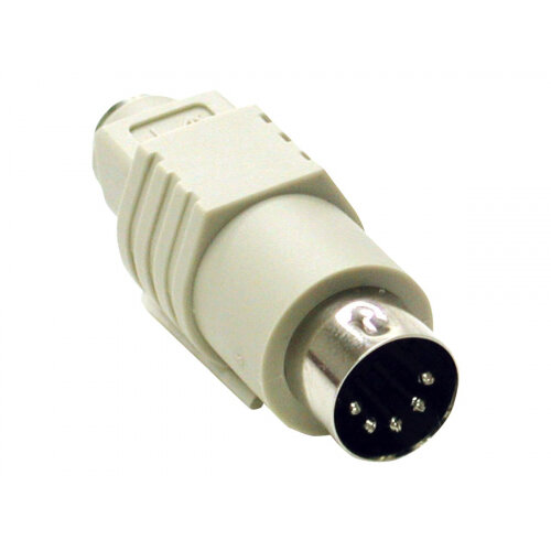 C2G - Keyboard adapter - 5 PIN DIN (M) to PS/2 (F) - molded