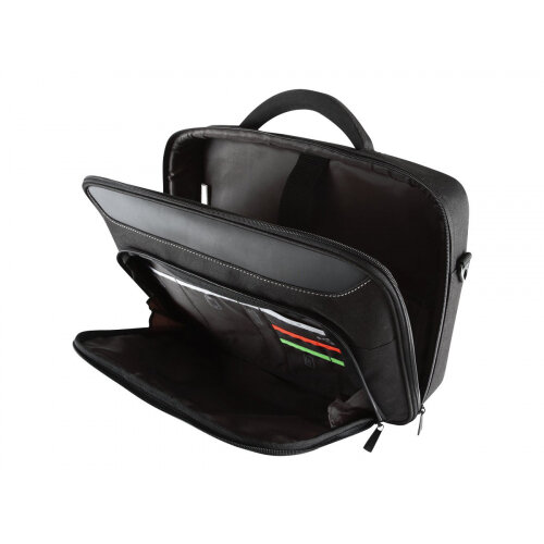 """Targus Classic+ 17 - 18"""" / 43.2 - 45.7cm Clamshell Case - Notebook carrying case - Laptop Bag - 18"""" - black"""