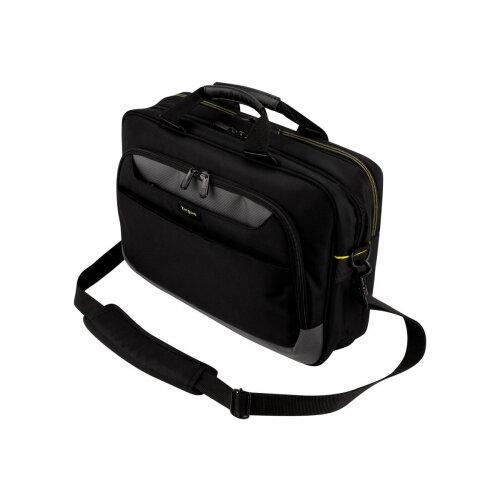 "Targus CityGear 15.6"" Slim Topload Laptop Case - Notebook carrying case - Laptop Bag - 15.6"" - black"