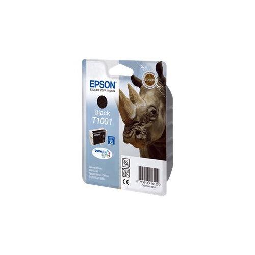 Epson T1001 - 25.9 ml - black - original - blister - ink cartridge - for Stylus SX510W, SX515W, SX600FW, SX610FW; Stylus Office B40W, BX600FW, BX610FW