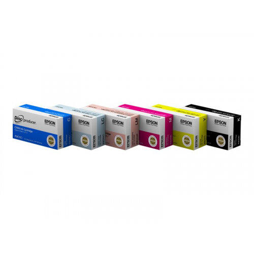 Epson - Magenta - original - ink cartridge - for Discproducer PP-100, PP-100AP, PP-100II, PP-100IIBD, PP-100N, PP-100NS, PP-50, PP-50BD