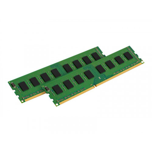 Kingston ValueRAM - DDR3 - 16 GB: 2 x 8 GB - DIMM 240-pin - 1600 MHz / PC3-12800 - CL11 - 1.5 V - unbuffered - non-ECC