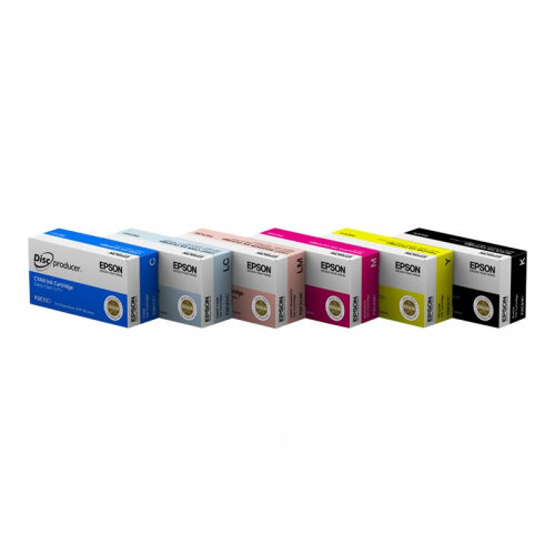 Epson - Light cyan - original - ink cartridge - for Discproducer PP-100, PP-100AP, PP-100II, PP-100IIBD, PP-100N, PP-100NS, PP-50, PP-50BD