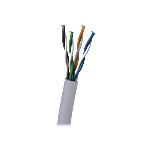 C2G - Bulk cable - 305 m - UTP - CAT 5e - plenum, solid - grey