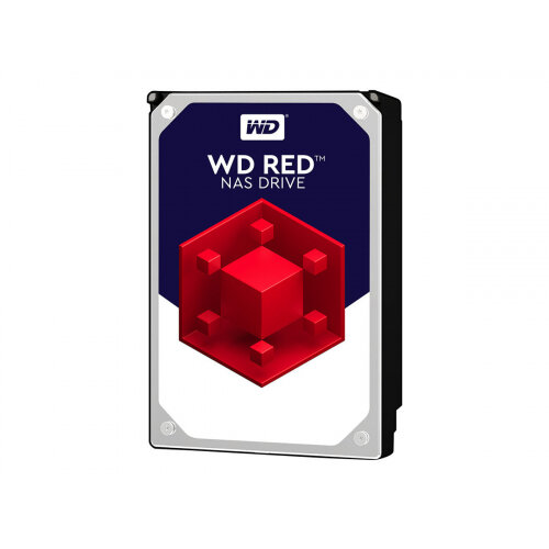 "WD Red NAS Hard Drive WD40EFRX - Hard drive - 4 TB - internal - 3.5"" - SATA 6Gb/s - buffer: 64 MB - for My Cloud EX2; EX4"