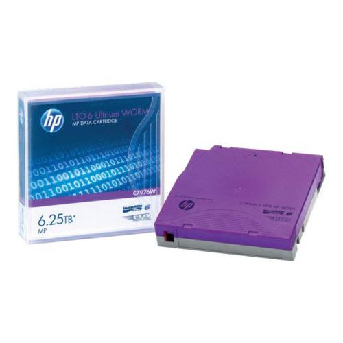 HPE - LTO Ultrium WORM 6 - 2.5 TB / 6.25 TB - write-on labels - purple - for StorageWorks SAS Rack-Mount Kit
