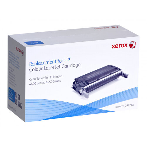 Xerox HP Colour LaserJet 4600/4650 series - Cyan - toner cartridge (alternative for: HP C9721A) - for HP Color LaserJet 4600, 4600dn, 4600dtn, 4600hdn, 4600n