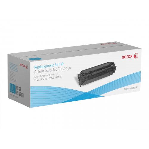 Xerox HP Colour LaserJet CM2320 MFP series - Cyan - toner cartridge (alternative for: HP CC531A) - for HP Color LaserJet CM2320fxi, CM2320n, CM2320nf, CP2025, CP2025dn, CP2025n, CP2025x