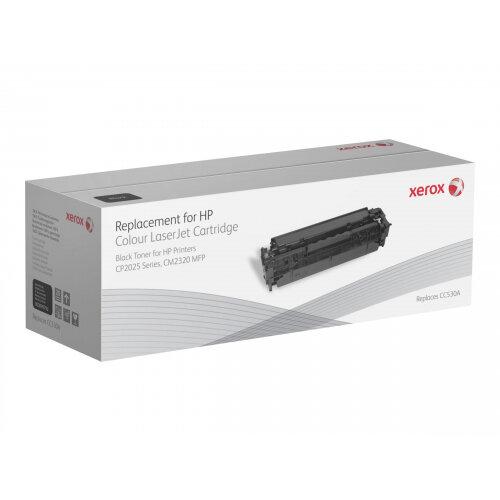 Xerox HP Colour LaserJet CM2320 MFP series - Black - toner cartridge (alternative for: HP CC530A) - for HP Color LaserJet CM2320fxi, CM2320n, CM2320nf, CP2025, CP2025dn, CP2025n, CP2025x