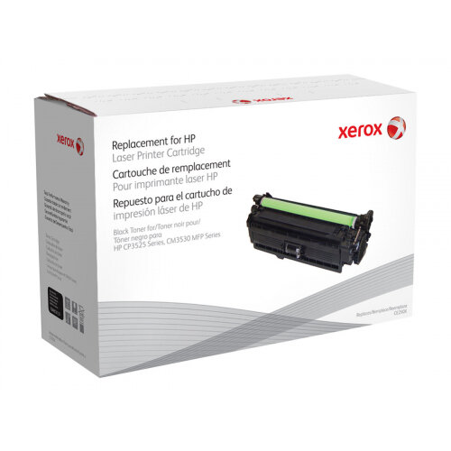 Xerox HP Colour LaserJet CM3530 MFP - Black - toner cartridge (alternative for: HP CE250X) - for HP Color LaserJet CM3530, CM3530fs, CP3525, CP3525dn, CP3525n, CP3525x, CP3527, CP3529