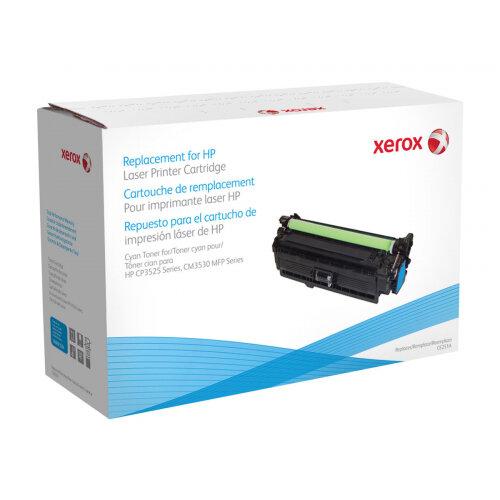 Xerox HP Colour LaserJet CM3530 MFP - Cyan - toner cartridge (alternative for: HP CE251A) - for HP Color LaserJet CM3530 MFP, CM3530fs MFP, CP3525, CP3525dn, CP3525n, CP3525x