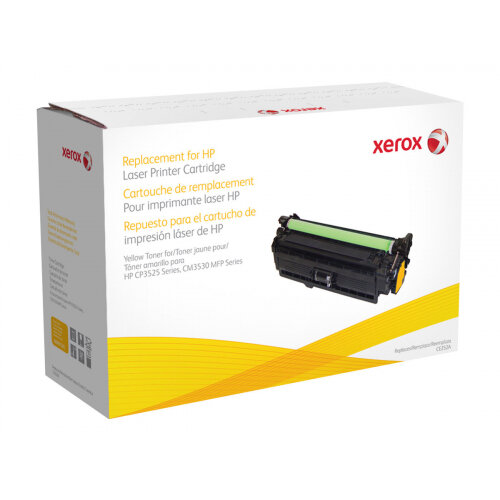 Xerox HP Colour LaserJet CM3530 MFP - Yellow - toner cartridge (alternative for: HP CE252A) - for HP Color LaserJet CM3530 MFP, CM3530fs MFP, CP3525, CP3525dn, CP3525n, CP3525x