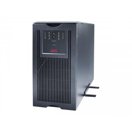 APC Smart-UPS - UPS - AC 230 V - 4 kW - 5000 VA - Ethernet 10/100, RS-232 - output connectors: 10 - 5U - black