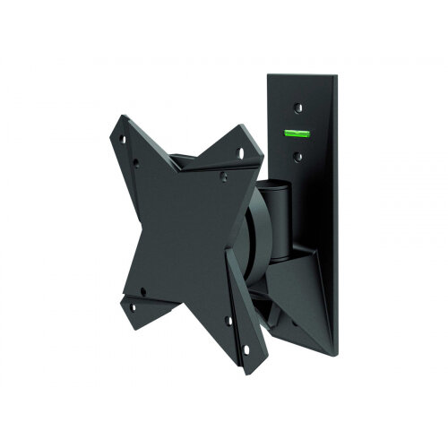 "NewStar TV/Monitor Wall Mount (2 pivots &tiltable) for 10""-30"" Screen - Black - Wall mount for LCD display (Tilt &Swivel) - black - screen size: 10""-30"""