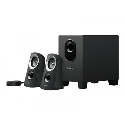 Logitech Z-313 - Speaker system - for PC - 2.1-channel - 25 Watt (Total)