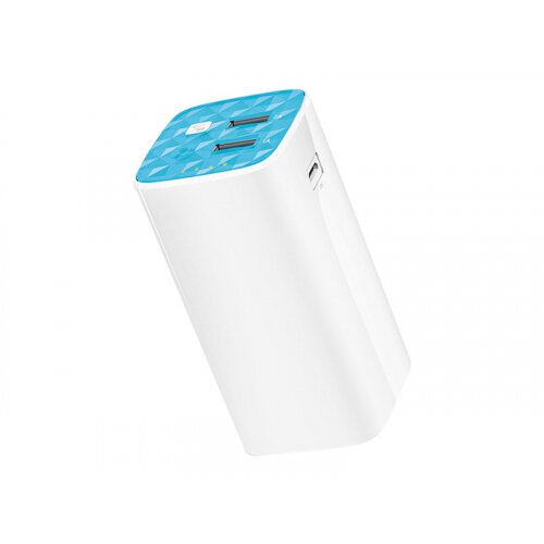 TP-Link TL-PB10400 - Power bank - 10400 mAh - 2 A - 2 output connectors (USB) - on cable: Micro-USB