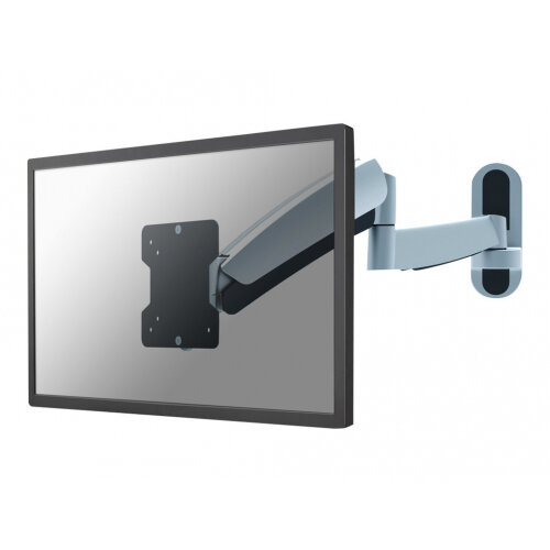 """NewStar TV/Monitor Wall Mount (Full Motion &gas spring height adjustable) for 10""""-40"""" Screen - Silver - Adjustable arm for plasma / LCD / TV (Tilt &Swivel) - silver - screen size: 10""""-40"""" - wall-mountable"""