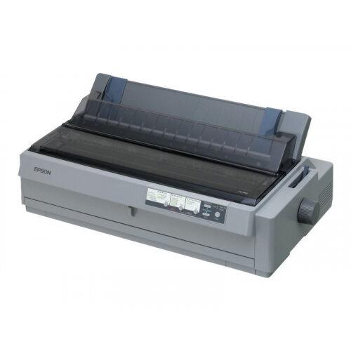 Epson LQ 2190N - Printer - monochrome - dot-matrix - 420 mm width - 360 x 180 dpi - 24 pin - up to 576 char/sec - parallel, USB 2.0, LAN