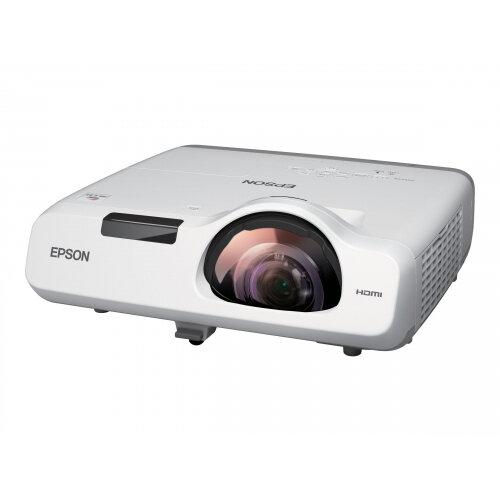 Epson EB-535W - 3LCD Multimedia Projector - 3400 lumens (white) - 3400 lumens (colour) - WXGA (1280 x 800) - 16:10 - 720p - LAN