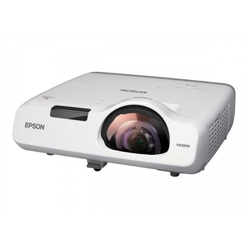 Epson EB-530 - 3LCD Multimedia Projector - 3200 lumens (white) - 3200 lumens (colour) - XGA (1024 x 768) - 4:3 - LAN