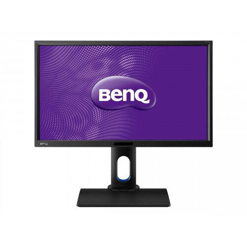 "BenQ BL series BL2420PT - LED Computer Monitor - 23.8"" - 2560 x 1440 - IPS - 300 cd/m² - 1000:1 - 5 ms - HDMI, DVI, DisplayPort, VGA - speakers"