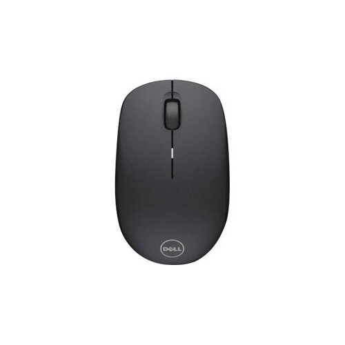 Dell WM126 - Mouse - optical - 3 buttons - wireless - RF - USB wireless receiver - for Chromebook 13 3380, 5190 2-in-1; Inspiron 11 31XX, 14 3467, 15 35XX; Latitude 7390 2-in-1